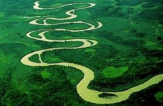 Meandering river 2
